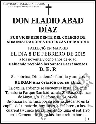 Eladio Abad Díaz